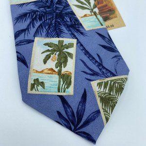 NEW Tommy Bahama Tropical Palm Tree Hawaiian Tie